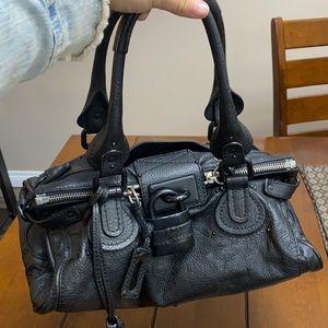 Chloe Paddington rare all black bag